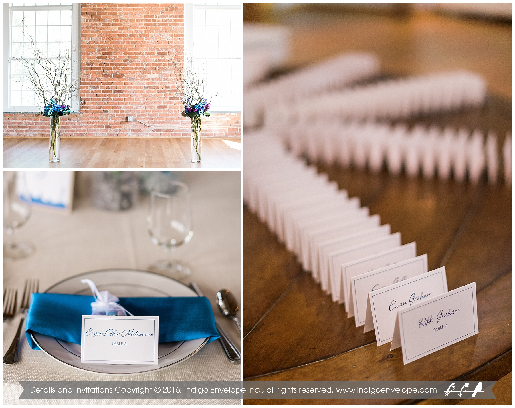 Indigo Envelope - Elegant Wedding