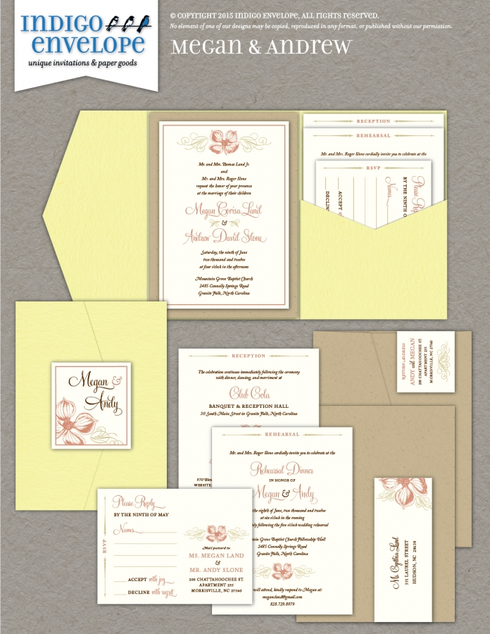 IndigoEnvelope-MeganAndrew-Invite
