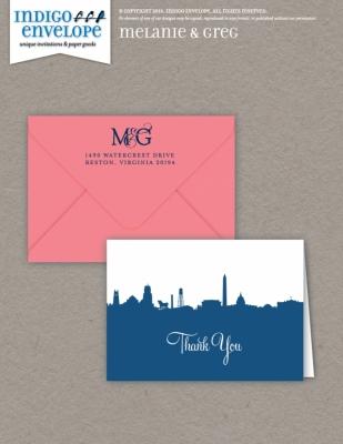 IndigoEnvelope-MelanieGreg-ThankYou