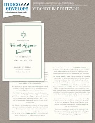 IndigoEnvelope-VincentBarMitzvah-Programs