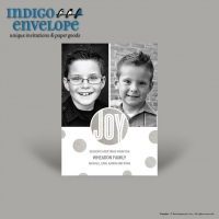 Wheadon Holiday Photo Card
