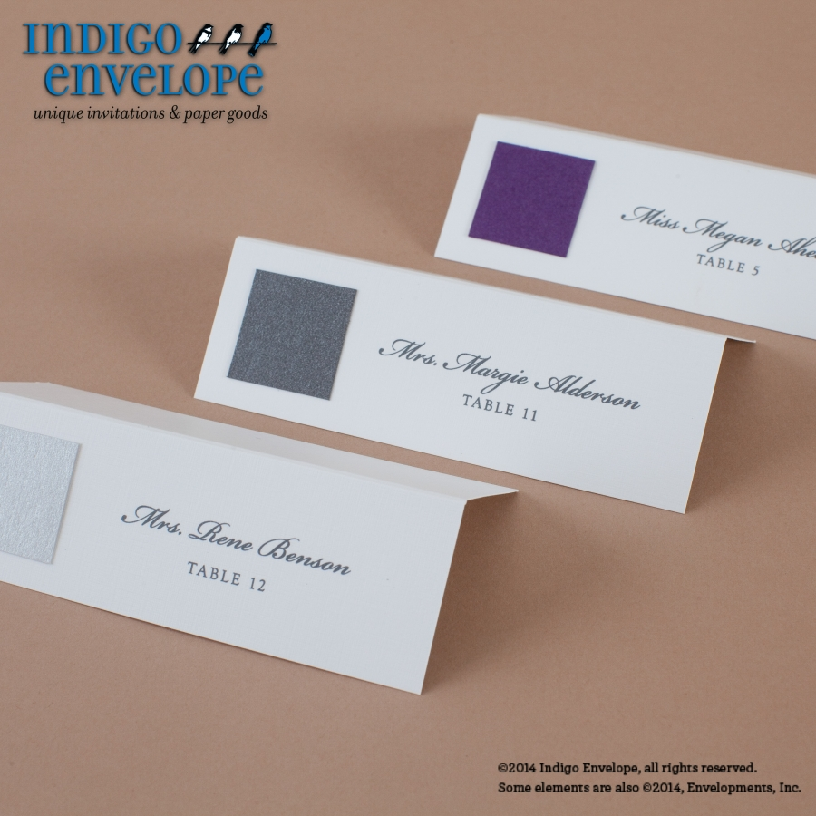 Escort Cards Archives - Indigo Envelope