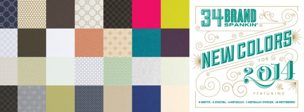 New Envelopments Color Release 2014