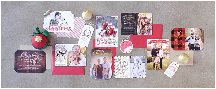 Online Holiday Cards Collage