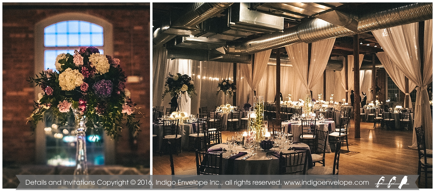 IndigoEnvelope - Geography-themed Wedding - Durham, NC