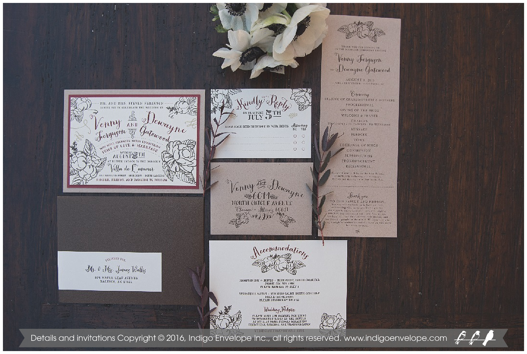 IndigoEnvelope-Elegant-Snow-White-Wedding