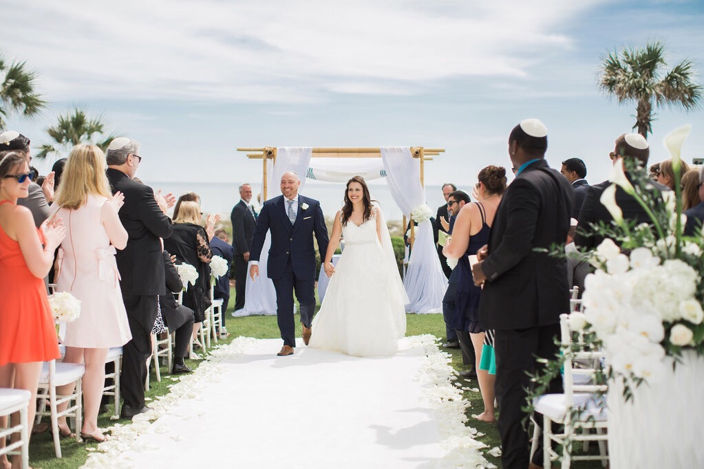 Formal Beach Wedding